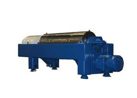 Horizontal Spiral Decanter Centrifuge machine