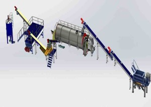 Meat Meal Rendering Plant